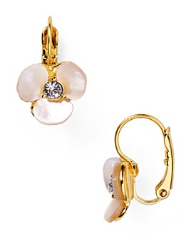 kate spade new york - Disco Pansy Leverback Earrings