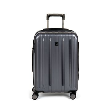 Delsey - Titanium Carry On Expandable Spinner Trolley