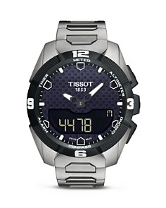 Tissot T-Touch Expert Solar Men's Titanium Bracelet Quartz Watch, 45mm - Bloomingdale's_0