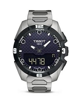 Tissot - T-Touch Expert Solar Men's Titanium Bracelet Quartz Watch, 45mm