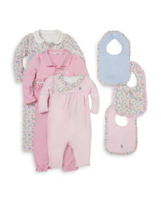 Girls' Floral Coverall - Baby