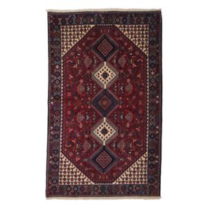 Yalameh Collection Persian Rug, 5' x 8'