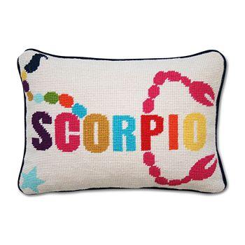 "Jonathan Adler - Zodiac Scorpio Pillow, 9"" x 12"""