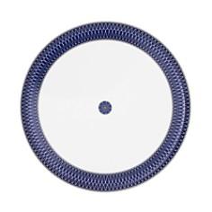 Royal Limoges - Blue Star Round Deep Platter