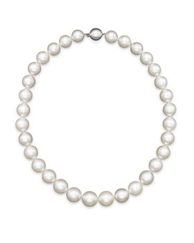 "Bloomingdale's - White South Sea Cultured Pearl Necklace in 14K White Gold, 18"" - 100% Exclusive"