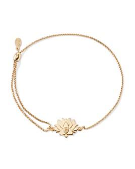 Alex and Ani - Precious Metals Symbolic Lotus Peace Petals Pull Chain Bracelet