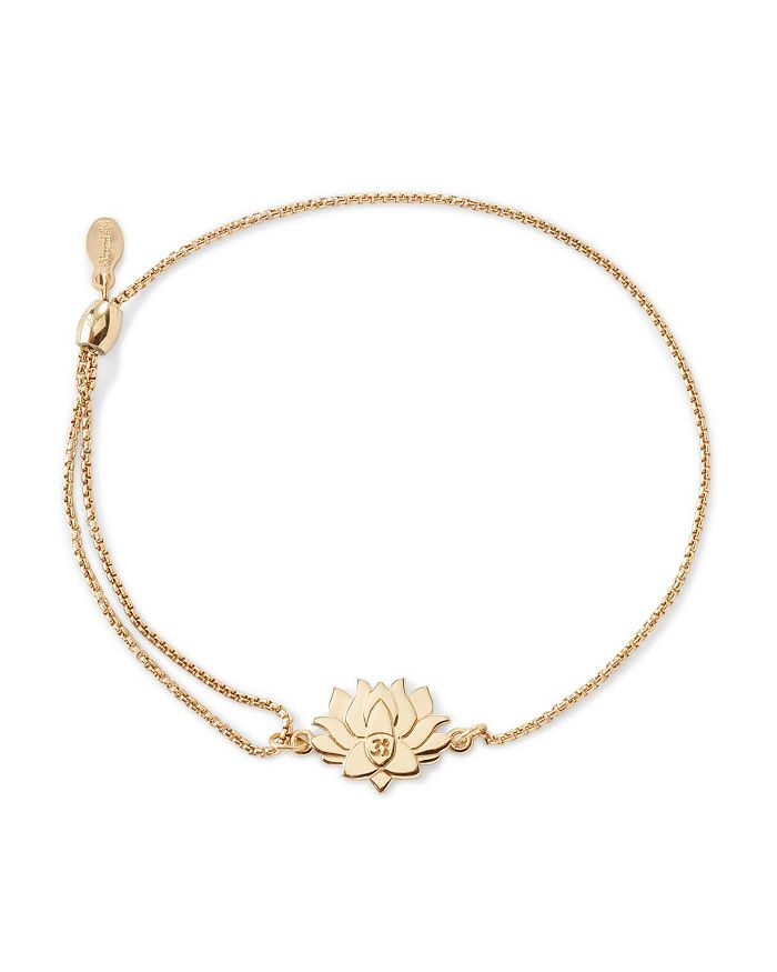 Alex And Ani Precious Metals Symbolic Lotus Peace Petals Pull Chain