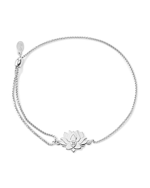 Alex and Ani Precious Metals Symbolic Lotus Peace Petals Pull Chain Bracelet