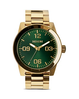 Nixon - The Corporal Sunray Dial Watch, 48mm
