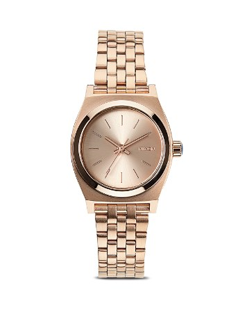 $Nixon The Small Time Teller Watch, 26mm - Bloomingdale's