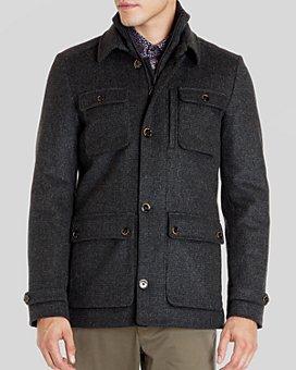 Ted Baker - Twinjak Wool Coat