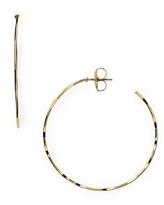 Robert Lee Morris Soho - Hammered Hoop Earrings