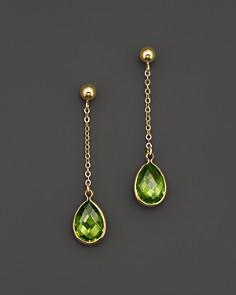 Peridot Drop Earrings in 14K Yellow Gold - 100% Exclusive - Bloomingdale's_0