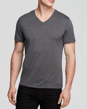 Theory Claey Plaito V-Neck Tee