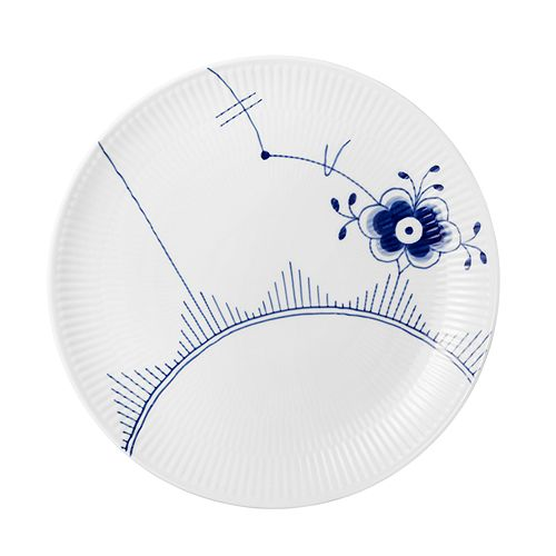 Royal Copenhagen - Blue Fluted Mega Coupe Dinner Plate