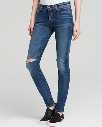 7 For All Mankind - The Skinny Jeans in Rue de Lille