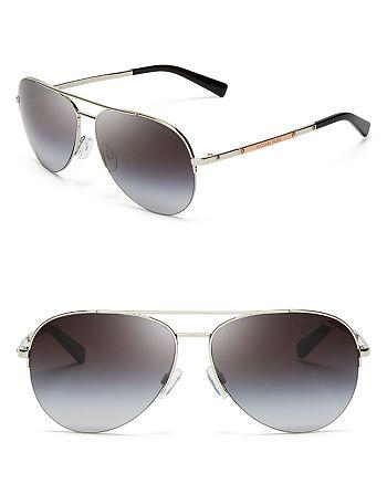 ff4c73c4f0d Michael Kors - Women s Gramercy Semi-Rimless Aviator Sunglasses