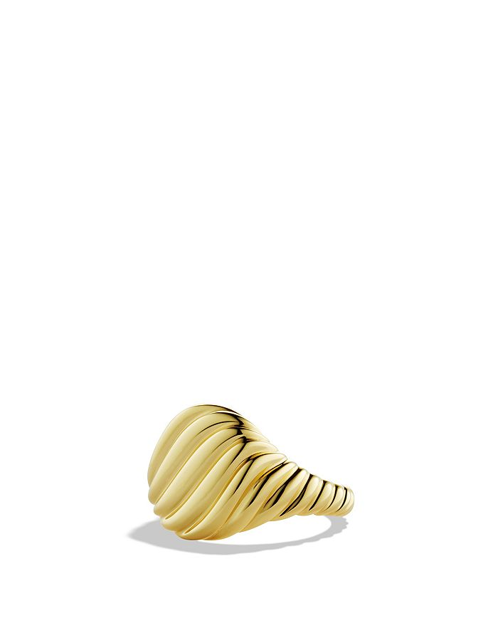 David Yurman - Cable Pinky Ring in Gold