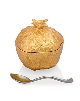 Michael Aram - Pomegranate Mini Pot with Spoon