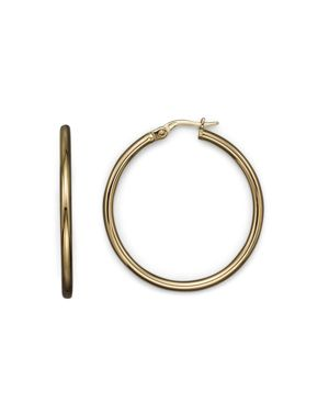 Roberto Coin 18K Yellow Gold Hoop Earrings
