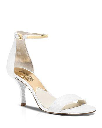 MICHAEL Michael Kors - Open Toe Sandals - Kristen High-Heel