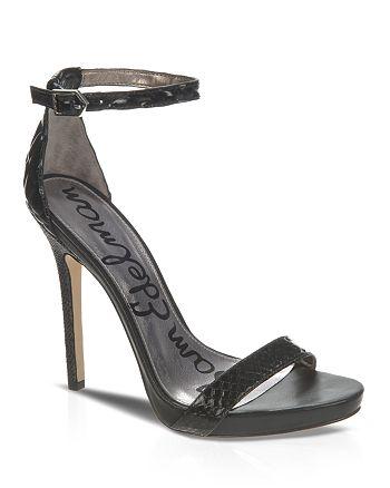 Sam Edelman - Open Toe Platform Sandals - Eleanor High-Heel