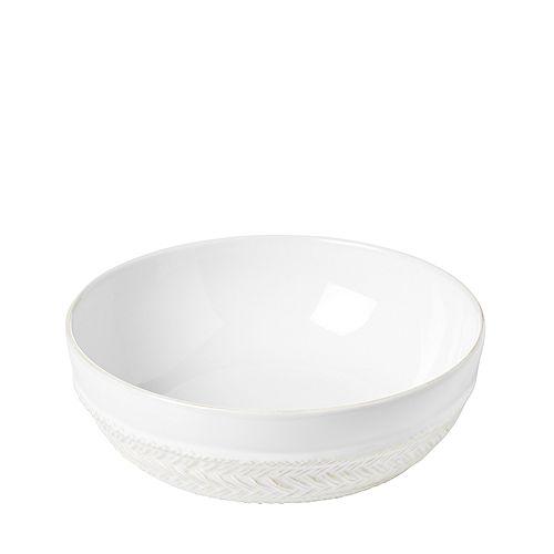 Juliska - Le Panier Whitewash Coupe Pasta/Soup Bowl