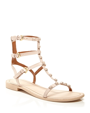 Rebecca Minkoff Georgina Studded Flat Gladiator Sandals
