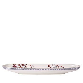 "Villeroy & Boch - Artesano Provencal Oval Fruit Bowl, 21.5"""