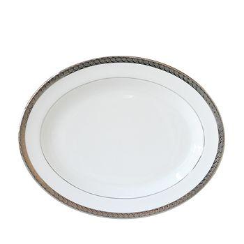 """Bernardaud - Torsade 15"""" Oval Platter"""