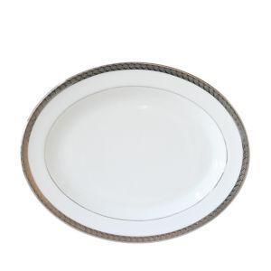 Bernardaud Torsade 15 Oval Platter