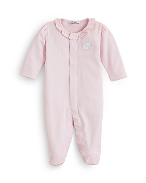 Kissy Kissy Girls' Pique Elephant Footie, Baby - 100% Exclusive