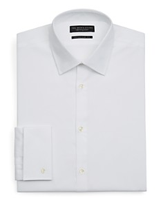 The Men's Store at Bloomingdale's - White Textured Dress Shirt - Regular Fit - 100% Exclusive