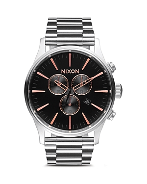 Nixon The Sentry Chronograph Watch, 42mm