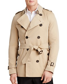 Burberry - Sandringham Short Trench Coat