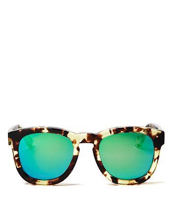WILDFOX - Women's Classic Fox Mirrored Sunglasses, 52mm