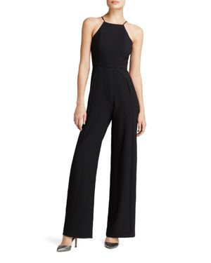 Black Halo Joaquin Wide-Leg Jumpsuit