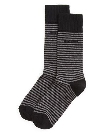 BOSS Hugo Boss - Combed Cotton Stripe Socks