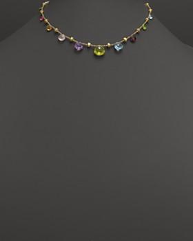 "Marco Bicego - 18K Gold Paradise Graduated Necklace, 16.5"""