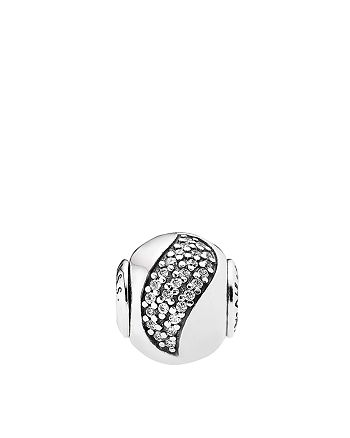 PANDORA - Charm - Sterling Silver & Cubic Zirconia Happiness, Essence Collection