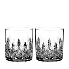 Waterford Lismore Connoisseur Whiskey Straight Sided Tumbler Glass, Set of 2 - Bloomingdale's_0