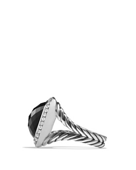 David Yurman - David Yurman Albion Ring with Black Onyx and Diamonds