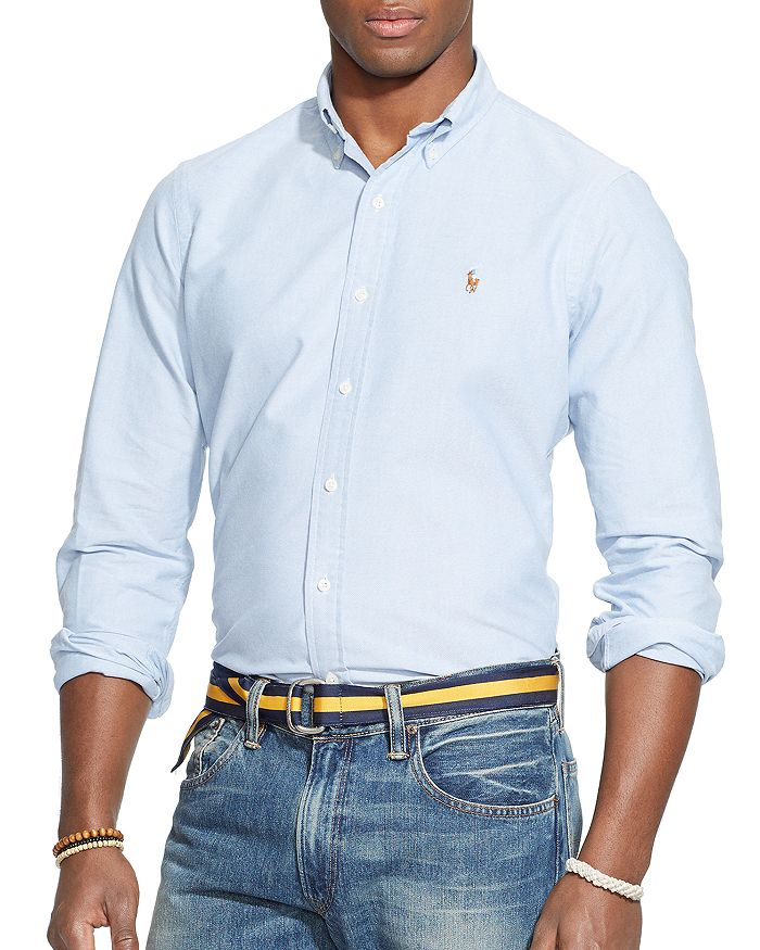 77d924f0a74 Polo Ralph Lauren Oxford Button-Down Shirt - Classic Fit ...