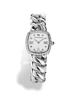 David Yurman - Albion Stainless Steel Watch with Diamonds, 27mm