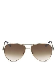 Chloé - Women's Nerine Aviator Sunglasses, 60mm
