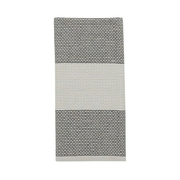 kate spade new york - Color Block Honeycomb Kitchen Towel