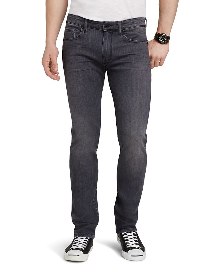 PAIGE - Transcend Federal Slim Fit Jeans in Walter Grey