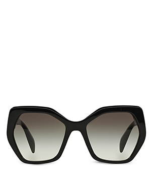 Prada Women's Oversized Geometric Sunglasses, 56mm