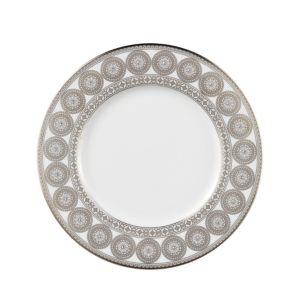Prouna Platinum Leaves Salad Plate