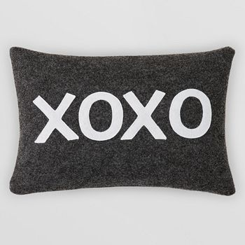 "Alexandra Ferguson - XOXO Decorative Pillow, 10"" x 14"""